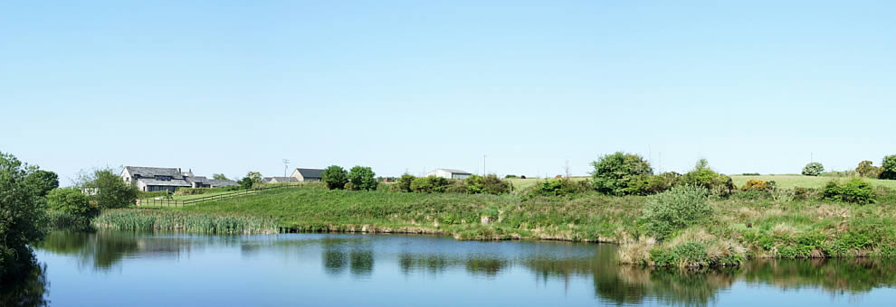 Holiday cottages with fishing lakes at East Rose on Bodmin Moor